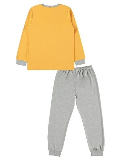 Civil Boys Erkek Çocuk Pijama Takımı Hardal